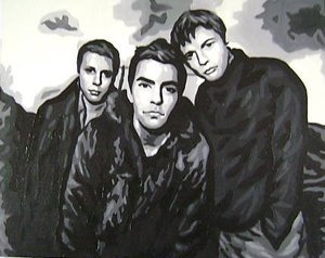 Reproduction oil paintings - Pop Art - Stereophonics Kelly Jones