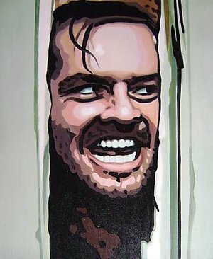 Reproduction oil paintings - Pop Art - The Shining Heres Johnny
