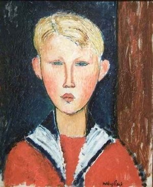 Expressionism painting reproductions: The Blue eyed Boy 2