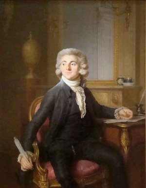 Reproduction oil paintings - Joseph Siffrein Duplessis - Portrait of a Gentleman