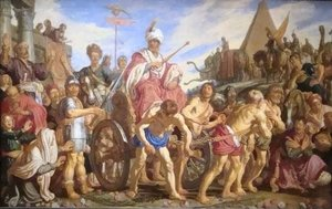 Reproduction oil paintings - Pieter Pietersz. Lastman - The Triumph of Sesostris