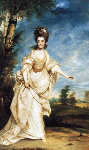 Reproduction oil paintings - Sir Joshua Reynolds - Diana Sackville