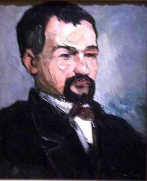 Reproduction oil paintings - Paul Cezanne - Portrait of Uncle Dominque