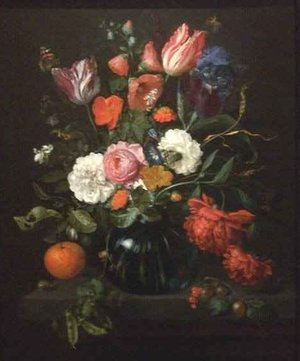Reproduction oil paintings - Jan Davidsz. De Heem - Vase of Flowers 2