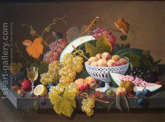Huge version of Still Life with Fruit 4