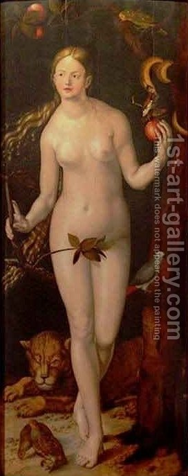 Eve 2 by Hans Baldung  Grien - Reproduction Oil Painting