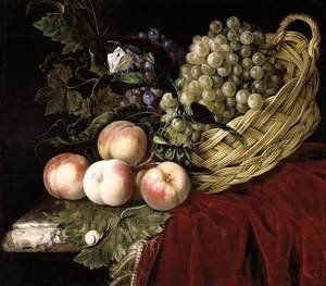 Reproduction oil paintings - Willem Van Aelst - Still-Life of Fruit 2