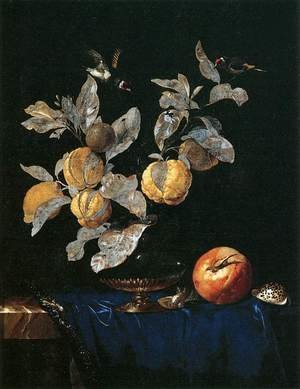Reproduction oil paintings - Willem Van Aelst - Still-Life with Fruit 2