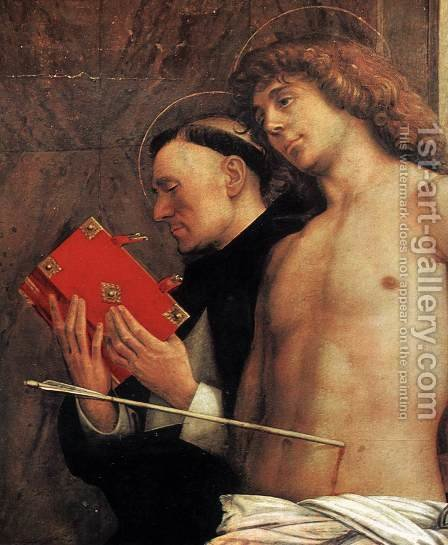 San Giobbe Altarpiece (detail) 4 by Giovanni Bellini - Reproduction Oil Painting