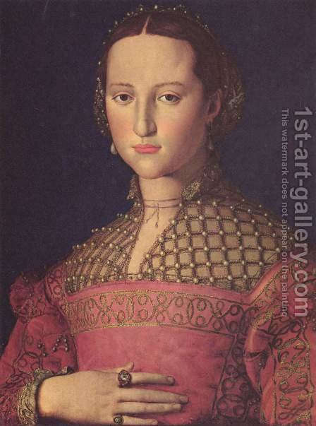 Eleonora di Toledo by Agnolo Bronzino - Reproduction Oil Painting