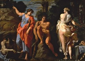 Reproduction oil paintings - Annibale Carracci - The Choice of Heracles