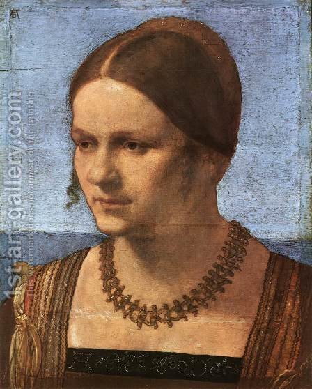 Portrait of a Venetian Woman 2 by Albrecht Durer - Reproduction Oil Painting