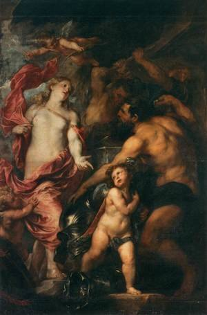 Reproduction oil paintings - Sir Anthony Van Dyck - Venus Asks Vulcan to Cast Arms for her Son Aeneas