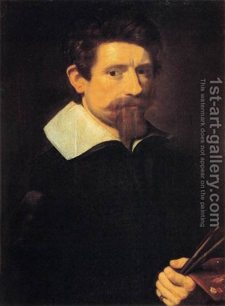 Self-Portrait by Adam Elsheimer - Reproduction Oil Painting