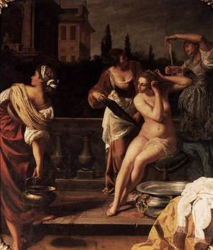 Reproduction oil paintings - Artemisia Gentileschi - Bathsheba