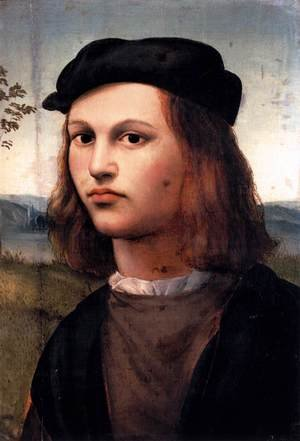 Reproduction oil paintings - Ridolfo Ghirlandaio - Portrait of a Young Man