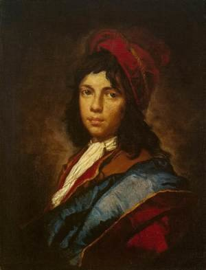 Reproduction oil paintings - Vittore Ghislandi - Portrait of a Boy