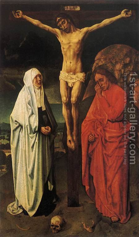 Crucifixion by Hugo Van Der Goes - Reproduction Oil Painting