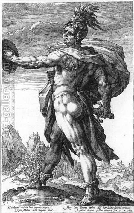 Calphurnius 2 by Hendrick Goltzius - Reproduction Oil Painting