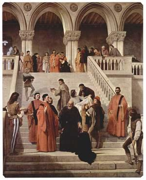 Reproduction oil paintings - Francesco Paolo Hayez - The Last Moments of Doge Marin Faliero