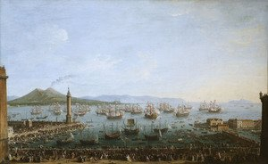 Arrival of Charles III in Naples 2