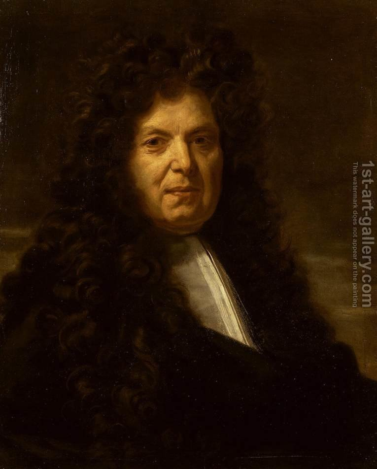 Huge version of Portrait of an Unknown Man