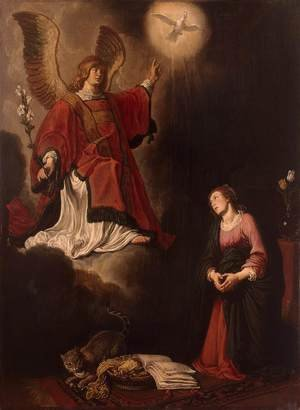 Reproduction oil paintings - Pieter Pietersz. Lastman - Annunciation