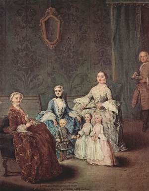 Reproduction oil paintings - Pietro Longhi - The Sagredo Family
