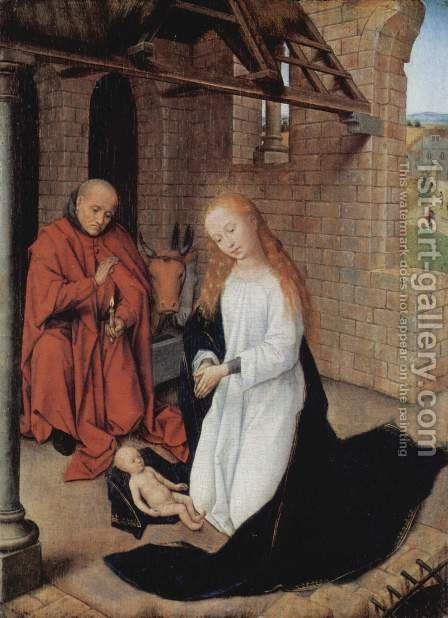 Nativity by Hans Memling - Reproduction Oil Painting