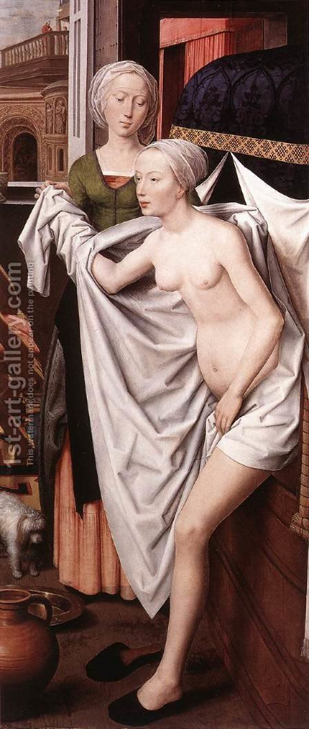 Bathsheba by Hans Memling - Reproduction Oil Painting