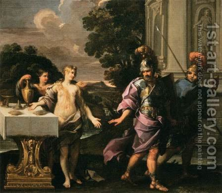Companions of Armida and Rinaldo by Giuseppe Passeri - Reproduction Oil Painting