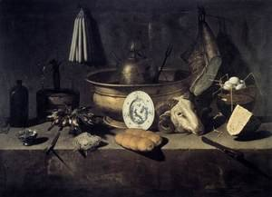 Still-Life with a Head of a Ram 2