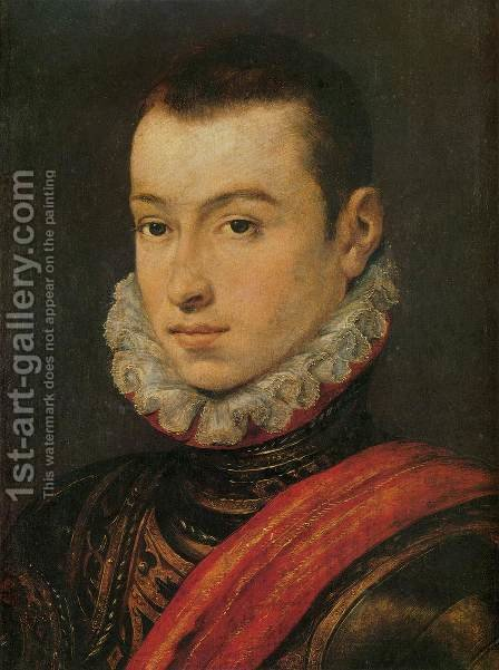 Young Nobleman by - Unknown Painter - Reproduction Oil Painting