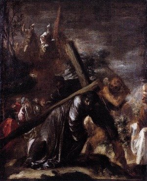 Reproduction oil paintings - Juan de Valdes Leal - Carrying the Cross