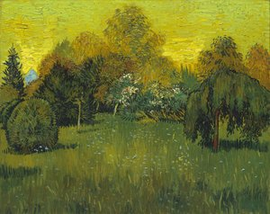Reproduction oil paintings - Vincent Van Gogh - The Poets Garden