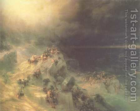 Great Flood by Ivan Konstantinovich Aivazovsky - Reproduction Oil Painting
