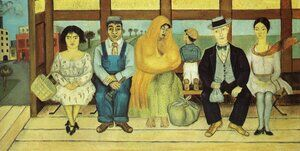 Reproduction oil paintings - Frida Kahlo - The Bus 1929