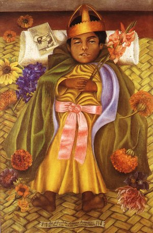 Reproduction oil paintings - Frida Kahlo - The Deceased Dimas Rosas Aged Three 1937