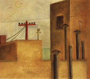 Reproduction oil paintings - Frida Kahlo - Urban Landscape 1925