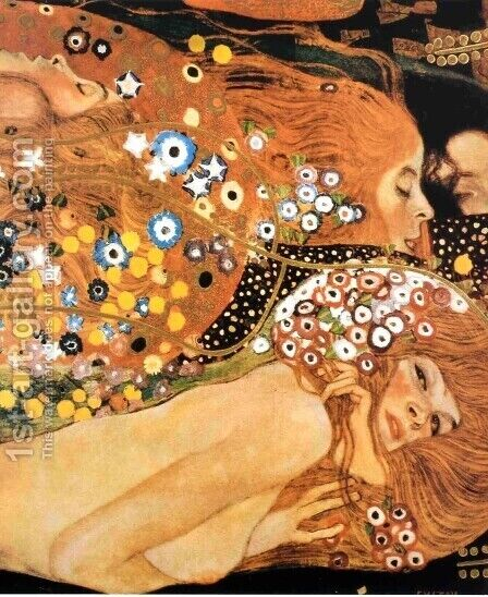 Acqua Mossa by Gustav Klimt - Reproduction Oil Painting