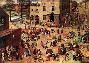 Famous paintings of Other: Children's Games 1559-60