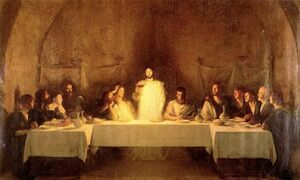Famous paintings of The Last Supper: The Last Supper
