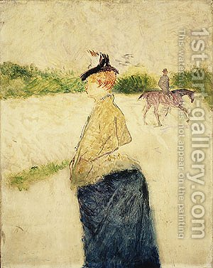 Eilie late 1890s by Toulouse-Lautrec - Reproduction Oil Painting
