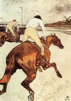 Reproduction oil paintings - Toulouse-Lautrec - The Jockey 1899