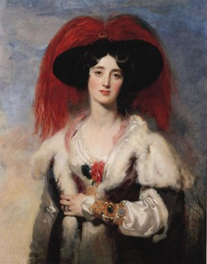 Reproduction oil paintings - Sir Thomas Lawrence - Lady Peel 1827