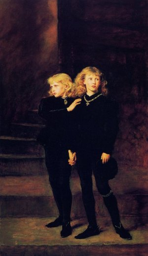 Reproduction oil paintings - Sir John Everett Millais - Princess in the Tower