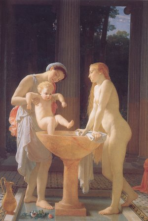 Reproduction oil paintings - Charles-Gabriel Gleyre - The Bath