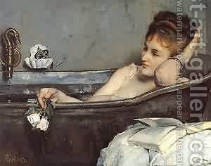 The Bath by Aime Stevens - Reproduction Oil Painting