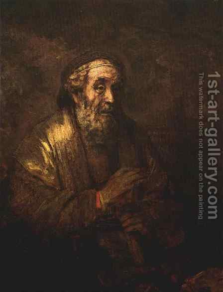 Homer 1663 by Harmenszoon van Rijn Rembrandt - Reproduction Oil Painting