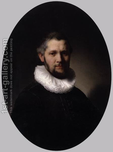 Portrait of a Man 1632 by Harmenszoon van Rijn Rembrandt - Reproduction Oil Painting
